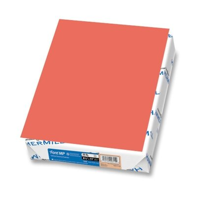 "Hammermill Colored Copy Paper, 20Lb, 8-1/2""x11"", 500/RM, Salmon"