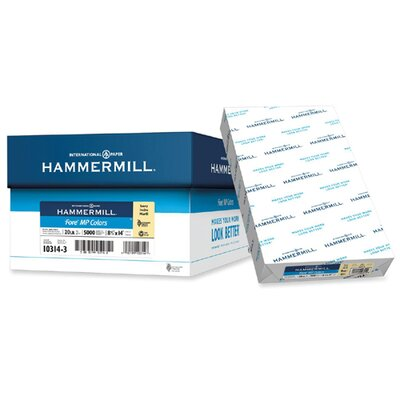 """Hammermill Colored Copy Paper, 20Lb, 8-1/2""""x14"""", 10 RM/CT, Ivory"""