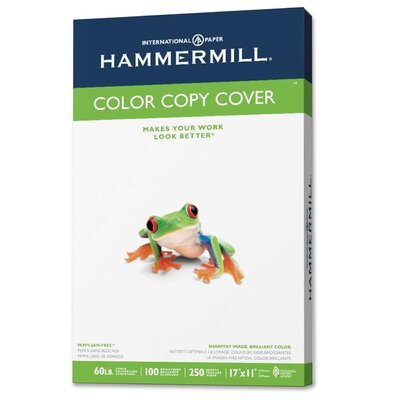 Hammermill Color Copy Digital Cover Stock, 60 Lbs., 11 X 17, 250 Sheets