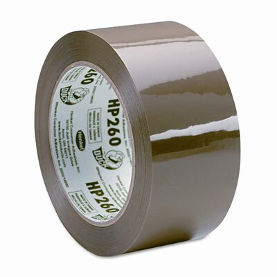 "Duck® Carton Sealing Tape 1.88"" x 60 Yards, 3"" Core, Tan"