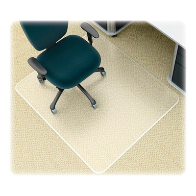 Deflect-O Corporation Supermat Studded Beveled Mat for Med Pile Carpet