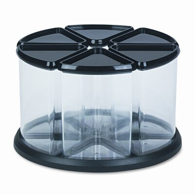 Deflect-O Corporation 6 Canister Carousel Organizer