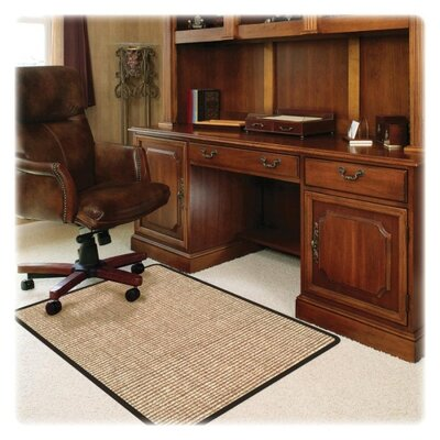 Deflect-O Corporation Medium Pile Carpet Straight Edge Chair Mat