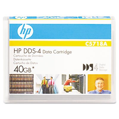 HP 1/8&quot; Dds-4 Cartridge, 150M, 20Gb Native/40Gb Compressed Capacity