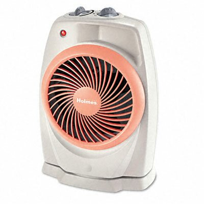 Holmes® Holmes Viziheat Power Space Heater 1,500 Watt Fan Forced Compact Electric Space Heater with Thermostat