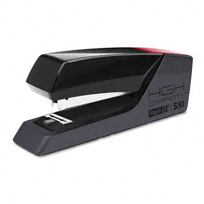 HUNT MFG.                                          Rapid S50 High-Capacity Superflatclinch Desktop Stapler, 50-Sheet Capacity