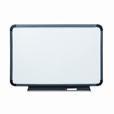 Iceberg Enterprises Ingenuity Charcoal Resin Frame 3' x 4' Whiteboard