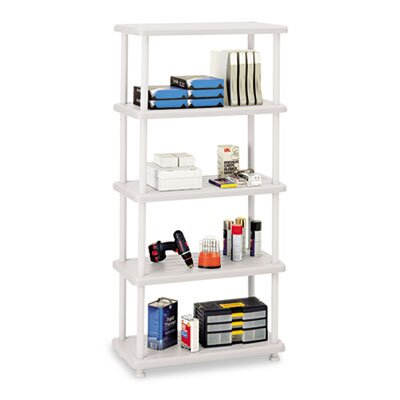 Iceberg Enterprises Rough N Ready 5 Shelf Open Storage System