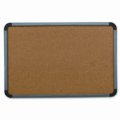 Iceberg Enterprises Ingenuity Resin Frame Cork 2' x 3' Bulletin Board