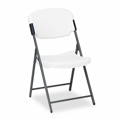 Iceberg Enterprises Rough 'n' Ready Mid-Back Polyethylene Folding Office Chair