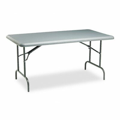Iceberg Enterprises Indestructable Too 1200 Series Resin Folding Table, 60W X 30D X 29H