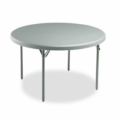 Iceberg Enterprises Indestructable Too 1200 Series Resin Folding Table, 48 Dia X 29H