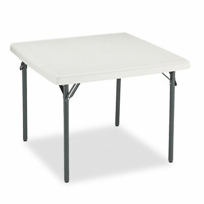 Iceberg Enterprises Indestructable Too 1200 Series Resin Folding Table, 37W X 37D X 29H