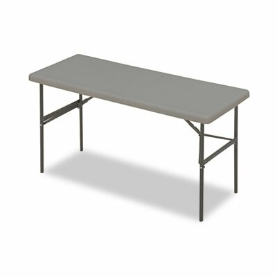 Iceberg Enterprises Indestructable Too 1200 Series Resin Folding Table, 60W X 24D X 29H