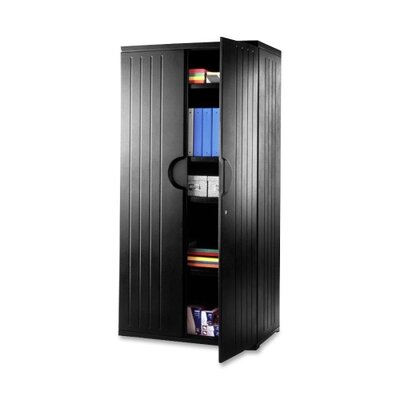 "Iceberg Enterprises Storage Cabinet, 4-Shelf, 36""x22""x72"""