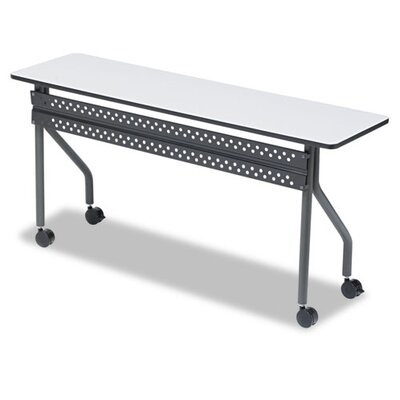 Iceberg Enterprises Officeworks Mobile Training Table, 60W X 18D X 29H
