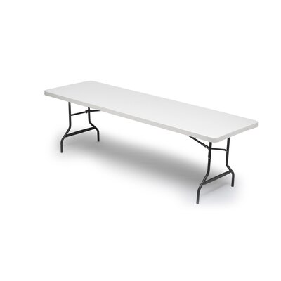 "Iceberg Enterprises IndestrucTable TOO 600 Series 48"" Folding Table in Platinum"