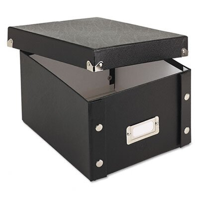 Ideastream Products Snap-N-Store Snap 'N Store Collapsible Index Card File Box