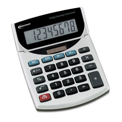 Innovera® Portable Minidesk Calculator