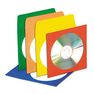 Innovera® CD/DVD Envelope, 50/Pack