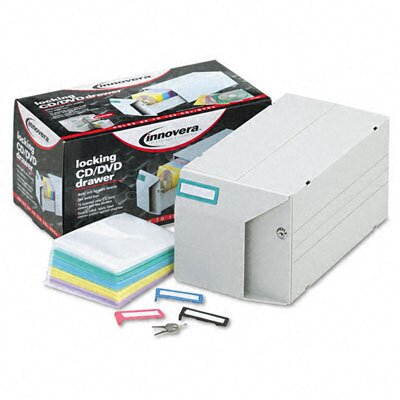 Innovera® CD/DVD Storage Drawer