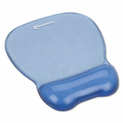 Innovera® Gel Mouse Pad with Wrist Rest, Nonskid Base