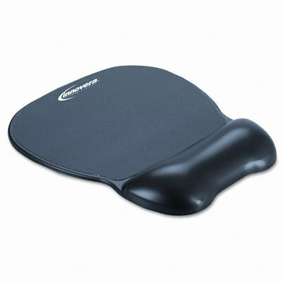 Innovera® Gel Mouse Pad with Wrist Rest