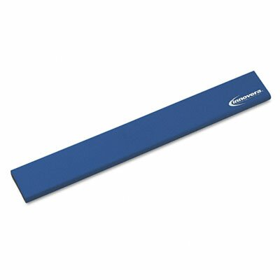 Innovera® Natural Rubber Keyboard Wrist Rest