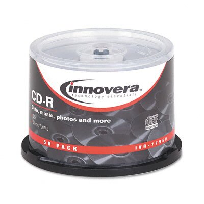 Innovera® CD-R Disc, 50/Pack