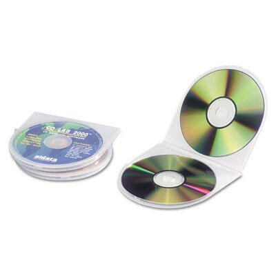 Innovera® CD/DVD Shell Case, 25/Pack