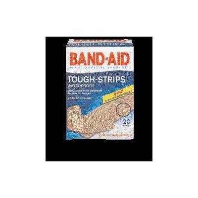 Johnson & Johnson BAND-AID® Tough Strips™ Waterproof Bandages (20 Per Box)