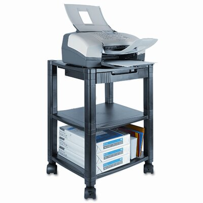 Kantek Kantek Three-Shelf Mobile Printer Stand