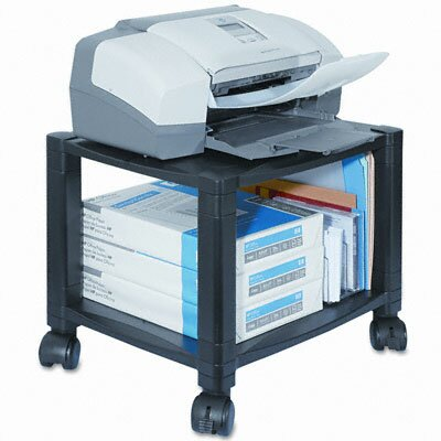Kantek Kantek Two-Shelf Mobile Printer Stand