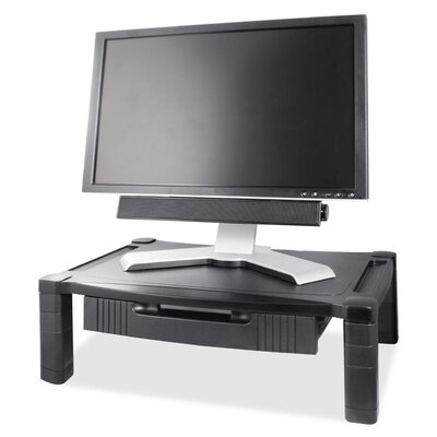 Deluxe Adjustable Monitor Stand with Drawer