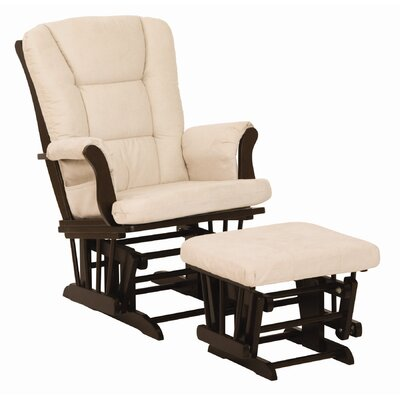 Storkcraft Tuscany Glider and Ottoman