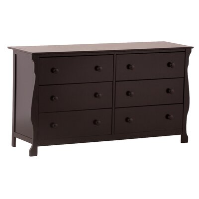 Storkcraft Carrara 6-Drawer Dresser