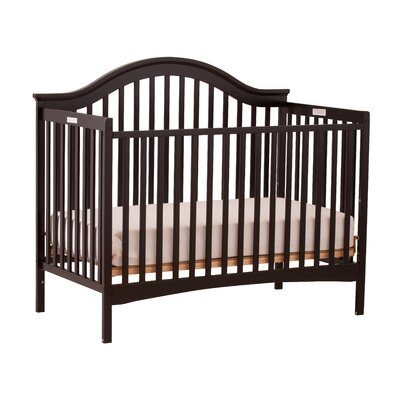 Storkcraft Ravena Fixed Side Convertible Crib in Black