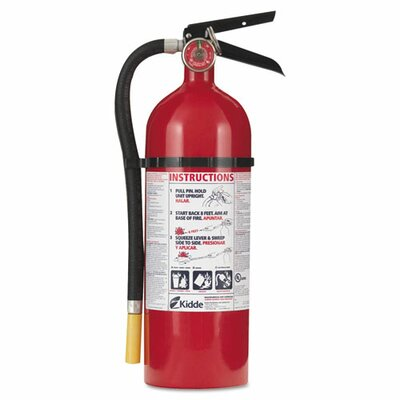 Kidde Fire and Safety Proline Pro 5 Multi-Purpose Dry Chemical Fire Extinguisher