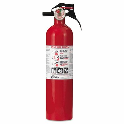 Kidde Fire and Safety Full Home Fire Extinguisher