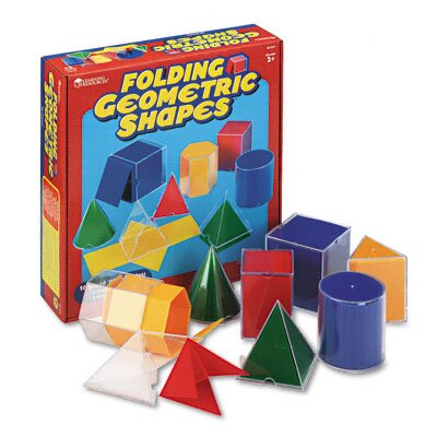 Learning Resources® Folding Geometric Shapes