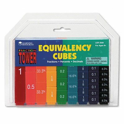 Learning Resources® Fraction Tower Activity Set