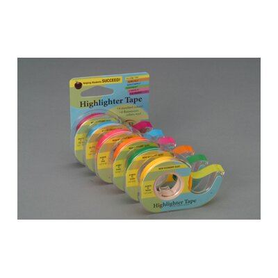 Lee Products Company Removable Highlighter Tape