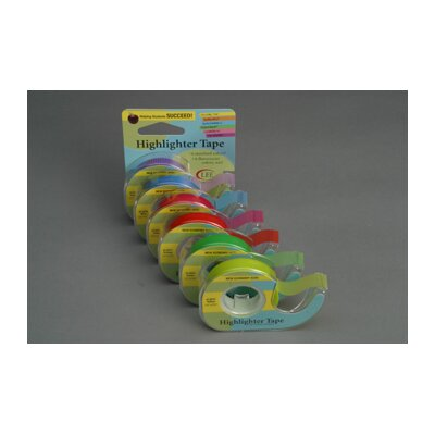 Lee Products Company Removable Highlighter Tape Blue