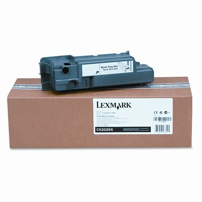 Lexmark International C52025X Waste Toner Box for C520/C522/C524, C52X, C53X