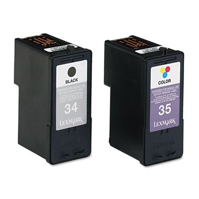 Lexmark International (34, 35) High-Yield, 2/Pack
