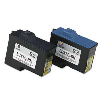 Lexmark International Ink Cartridge, 2/Pack