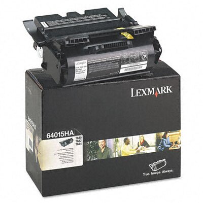 Lexmark International 64015HA High-Yield Toner, 21000 Page-Yield