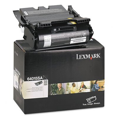 Lexmark International Toner Cartridge, 6000 Page-Yield