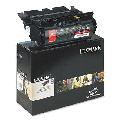 Lexmark International 64035HA Extra High-Yield Toner, 21000 Page-Yield