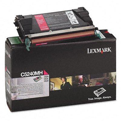 Lexmark International C5240MH High-Yield Toner, 5000 Page-Yield
